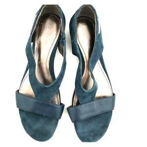 Calvin Klein Bennie Wedge Sandal Size 6.5