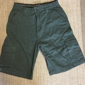 Boy Scouts canvas uniform shorts!