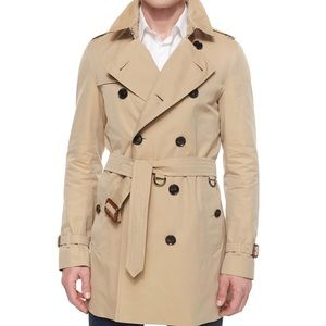 Burberry London Britton Men's trench coat 44