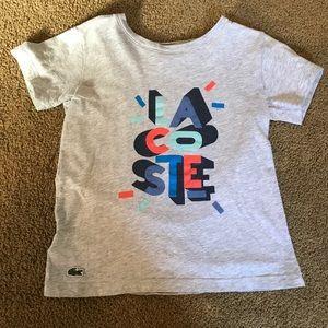 Lacoste boys tshirt, size 5