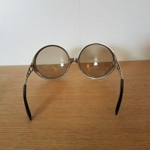 67661becaa4 Vintage Accessories - Vintage 60s Mod Space Age Sunglasses