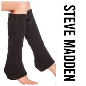 Steve Madden Cable Knit Leg Warmers
