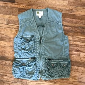 Urban Outfitters utilitarian vest with pockets S