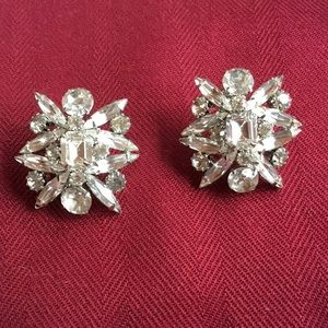 Jewelry - FANCY RHINESTONE EARRINGS !!!! VINTAGE