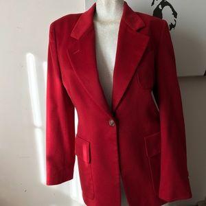 Rare Red Authentic Gucci Blazer