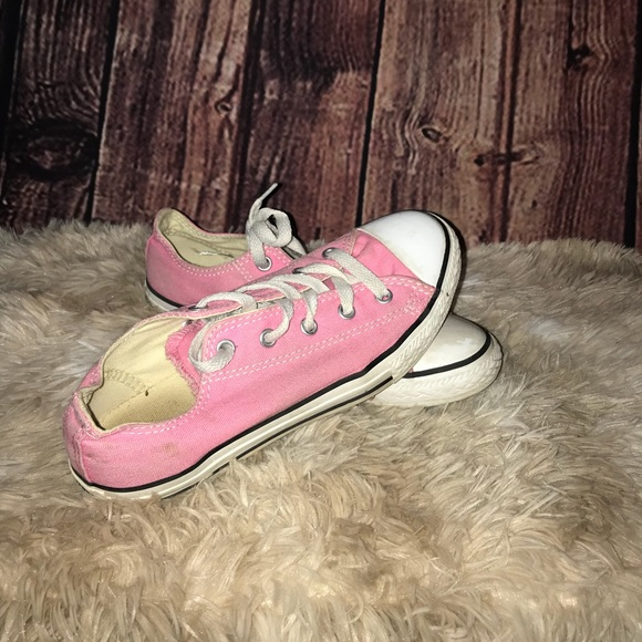 Converse Other - Girls size 3 pink converse sneakers d08a14be2