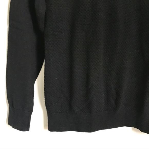 Banana Republic Sweaters - Banana Republic Black Knit Crewneck Sweater Small