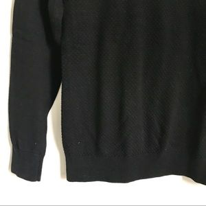 Banana Republic Sweaters - Banana Republic Black Knit Crewneck Sweater Small