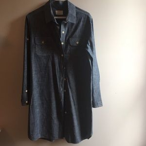 Billy Reid Chambray Dress size L