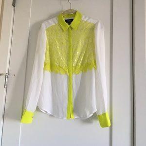 Prabal Gurung for Target Neon Lace Shirt