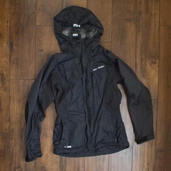 hot sale online b41f0 54a3c 🔸SALE🔸 Helly Hansen Size S Black Rain Jacket