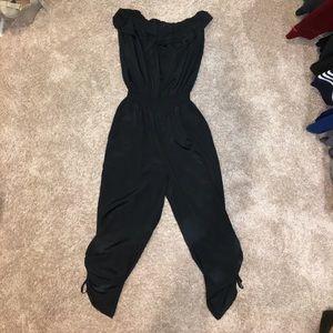 Arden B Black Jumpsuit