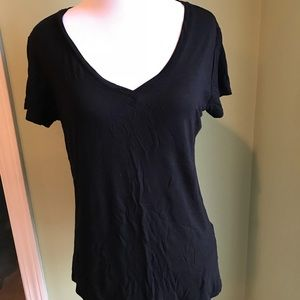 Paige jeans black shirt