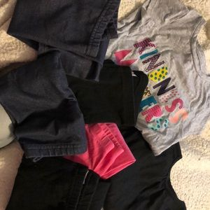 Other - 4 pair 3T pants and 2 shirts