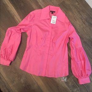 Bebe pink shirt NWT