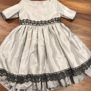 """Size 6 Persnickety Grey """"Celeste"""" Party Dress"""