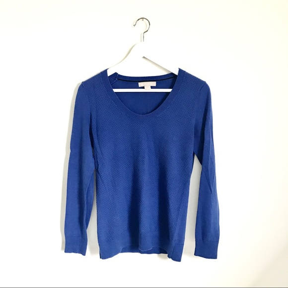 Banana Republic Sweaters - Banana Republic Cobalt Blue Crewneck Sweater S