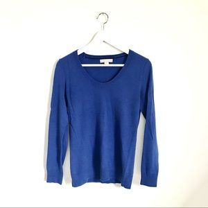 Banana Republic Cobalt Blue Crewneck Sweater S