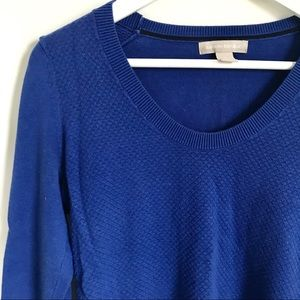 Banana Republic Sweaters - Banana Republic Cobalt Blue Crewneck Sweater S