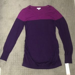 Maternity Purple  Sweater