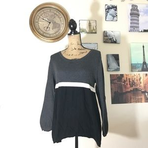 Style & Co A-line sweater, Sz. L