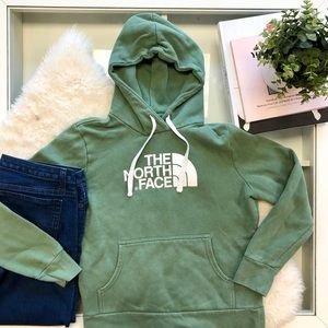 The North Face Hoodie in Green