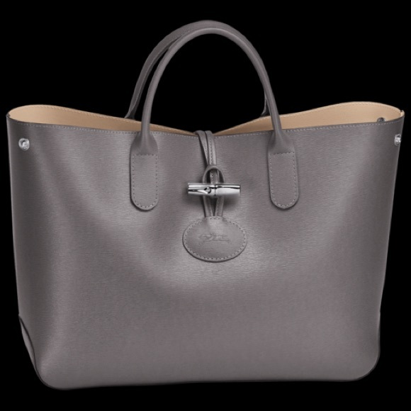 29ab6bce166a Longchamp Handbags - Authentic Longchamp ROSEAU leather tote handbag