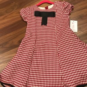 Five Loaves Two Fishes Red Gingham Size 6 Dress