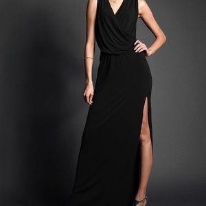 Victoria Secret Drape Front Maxi Dress