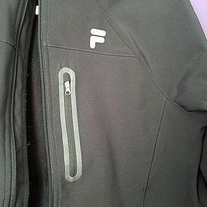 Fila Jackets & Coats - Fila Sport black jacket with multiple pockets