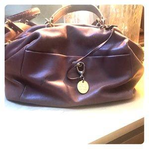 Henri Bendel Tan leather bag