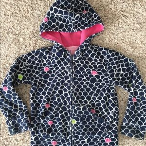 FLASH!Lilly Pulitzer SZ 5T terry zip up