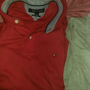 RED TOMMY POLO (CHEAP)