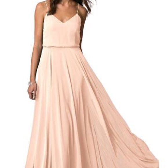 Jenny Yoo Dresses   Skirts - Bhldn Jenny Yoo Inesse Dress blush ... 8833052d01a03
