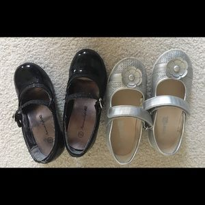 Other - 2 pairs of Girls dress shoes size 10.