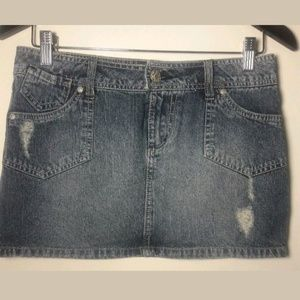 🦋 SO Wear It Blue Denim Skirt Size 5