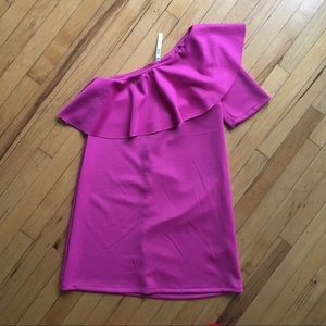 NWT One Shoulder Dress