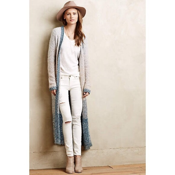 73% off Anthropologie Sweaters - Anthropologie loop stitch ombré ...