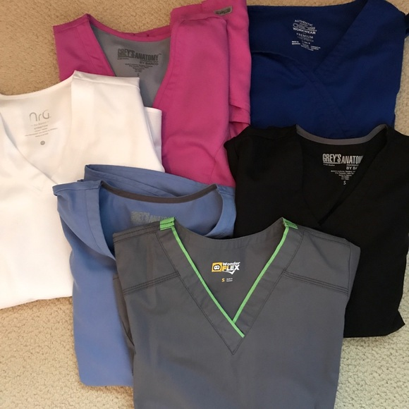 b3c3132fea9 Greys Anatomy Other - Lot of Grey's Anatomy (and other brand) scrubs!