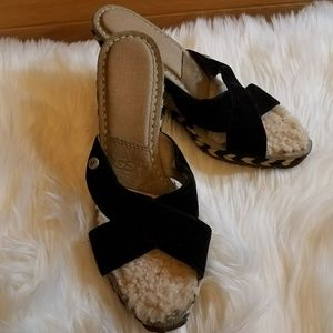 Womans UGG wedges size 7
