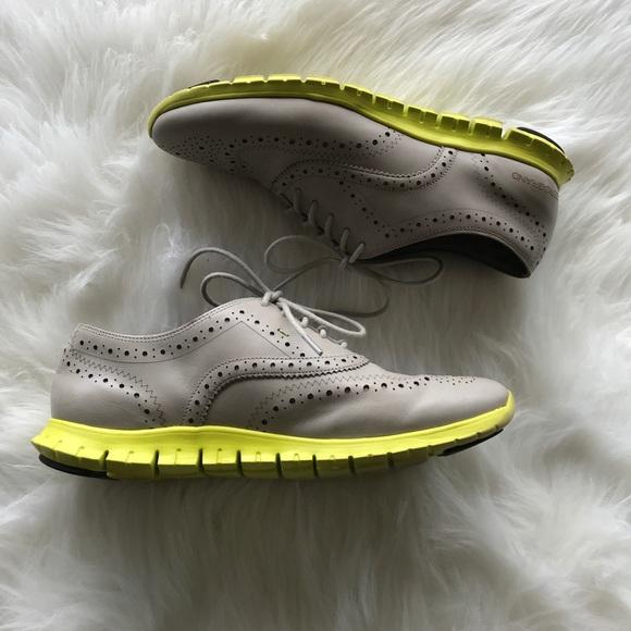 9c310618703 Cole Haan Shoes | Zerogrand Wingtip Oxford Paloma Volt | Poshmark