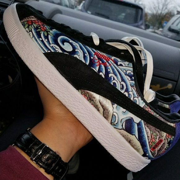 official photos f8b45 a5be9 PUMA ATMOS CLYDE X T.T.T 'UKIYO-E'
