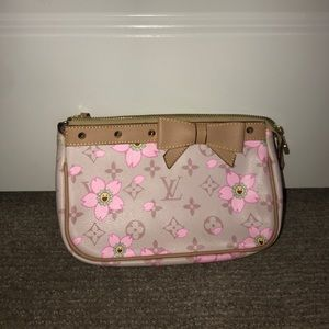 3d24a016ab39 Louis Vuitton Bags - small pink flowered louis vitton small bag