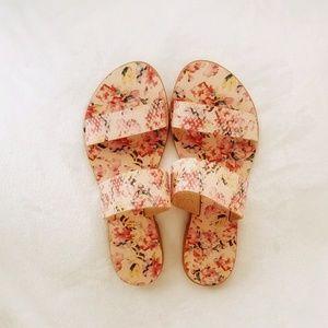NWOB Joie Sable Pink Floral Slip-on