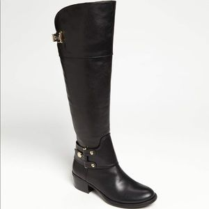 VINCE CAMUTO over the knee gorgeous black boots