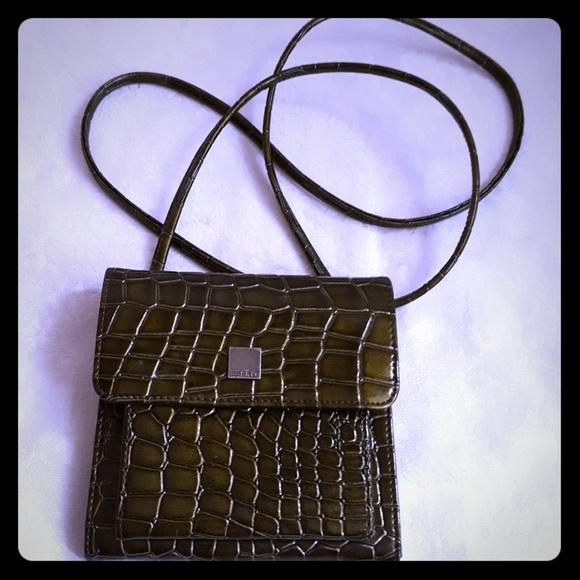 Esprit Handbags - Vintage ESPRIT 90 s Patent Croc Crossbody Mini Bag 9af33194d3192