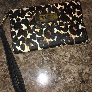 Victoria's Secret leopard print wallet