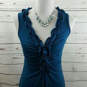 Ella Moss Ruched Dress, M