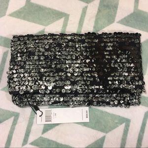 BCBGeneration Black Palette Clutch