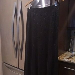 Laundry maxi embellished skirt